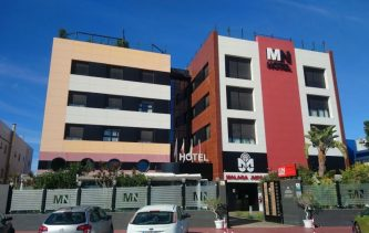 Hotel Málaga Nostrum, which is very close to the airport and the industrial area.