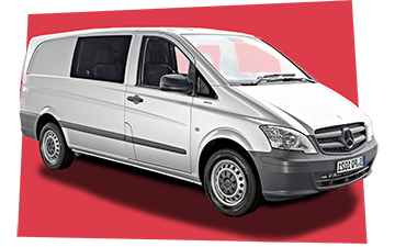 Rent Mercedes Vito